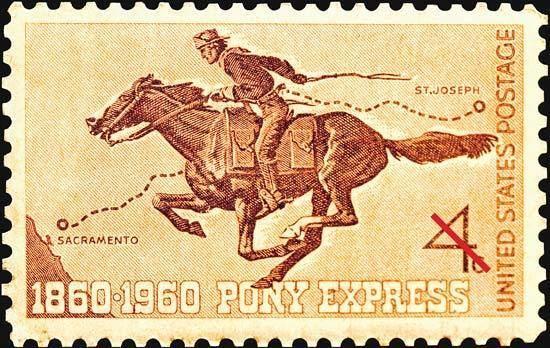 Pony Express Pony Express United States history Britannicacom