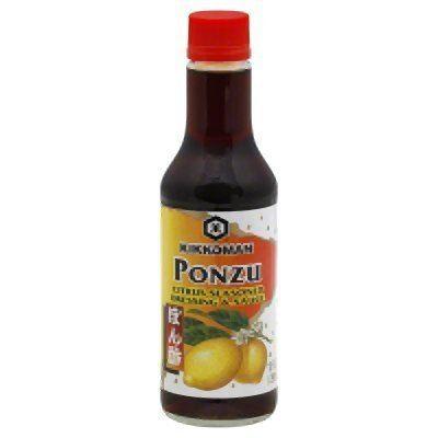 Ponzu Amazoncom Kikkoman Ponzu Sauce Bottle 10 Ounce Soy Sauces