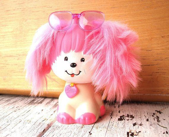 Poochie (toy) Vintage Poochie stamper toy Mattel Poochie dog toy by PeachPod