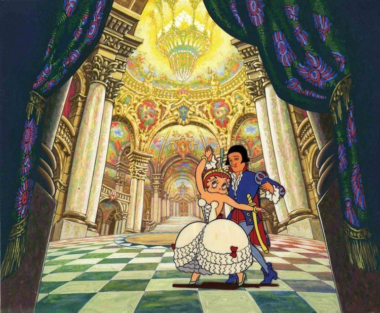 Poor Cinderella Prod cels and backgrounds from Poor Cinderella