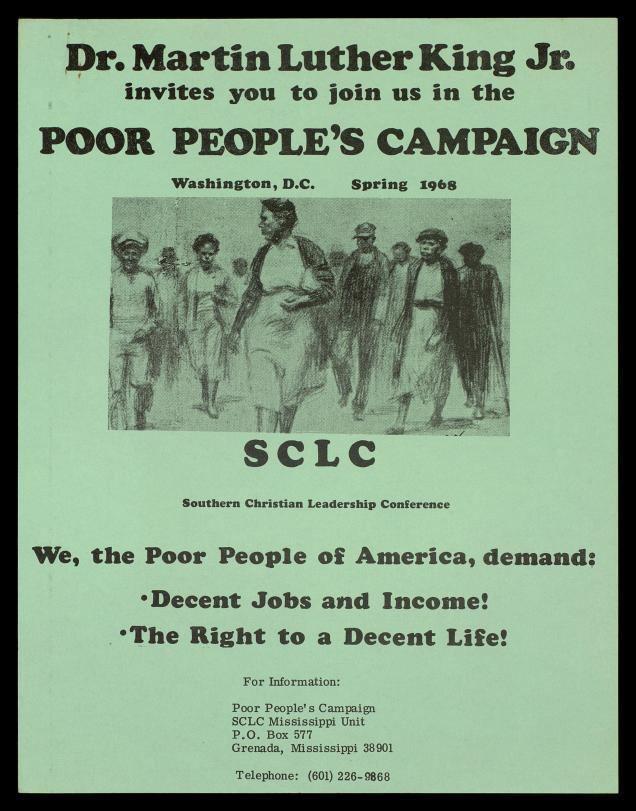 Poor People's Campaign Poor People39s Campaign 1968 The Martin Luther King Jr Center for