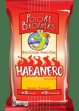 Poore Brothers Habanero Inventure Foods