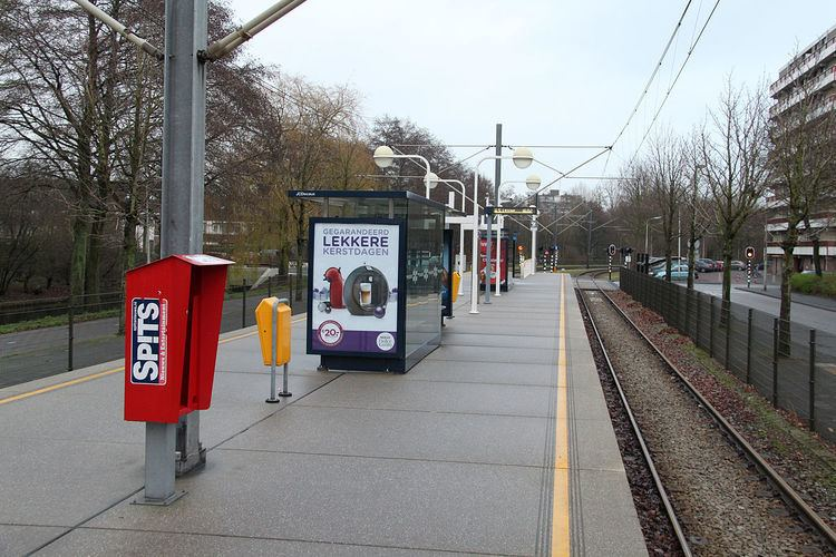 Poortwachter tram stop