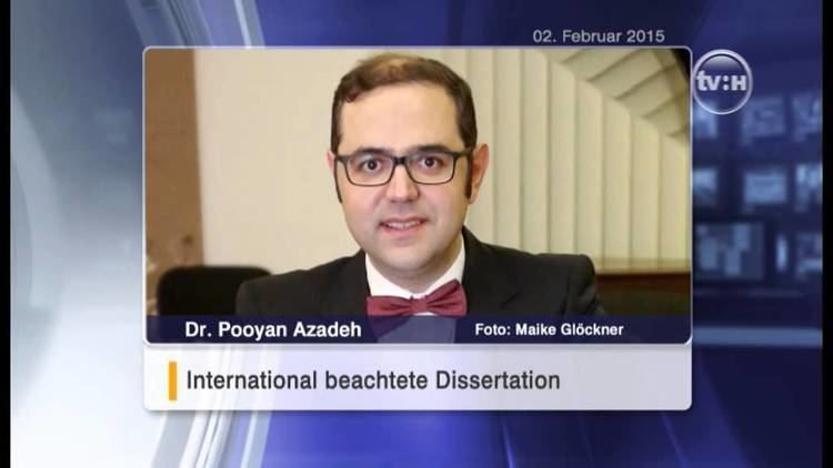 Pooyan Azadeh Pooyan Azadeh in Television HALLE YouTube