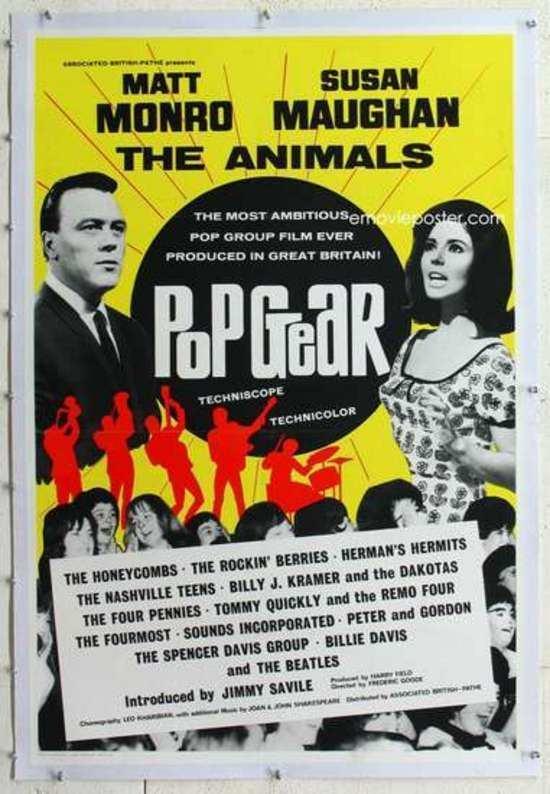 Pop Gear Stupefaction Movie of the Week Pop Gear Go Go Mania 1965