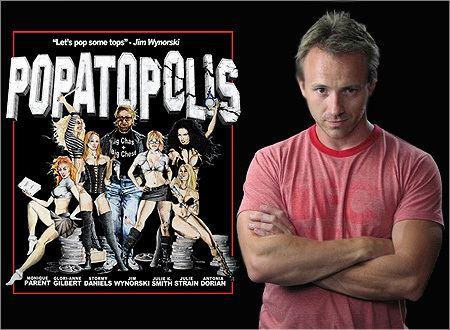 Popatopolis Watching Wynorski Clay Westervelt talks POPATOPOLIS Interview