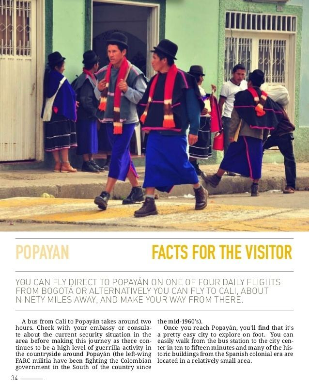 Popayan in the past, History of Popayan