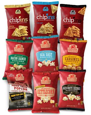 Popcorn, Indiana (brand) Popcorn Indiana Popcorn