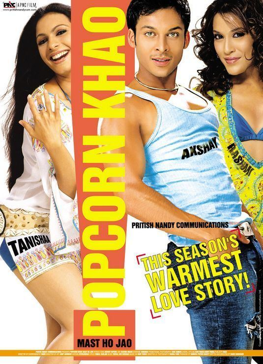 Popcorn Khao Mast Ho Jao Movie Poster 2 of 4 IMP Awards