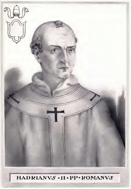 Pope Adrian II FilePope Adrian IIjpg Wikimedia Commons