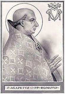 Pope Agapetus I epicpewcomwpcontentuploads201411220pxPope