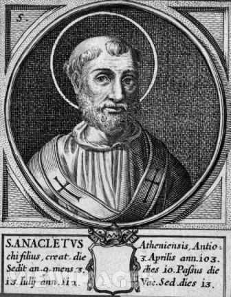 Pope Anacletus Today39s Saints Pope St Anacletus Martyr Carissimi