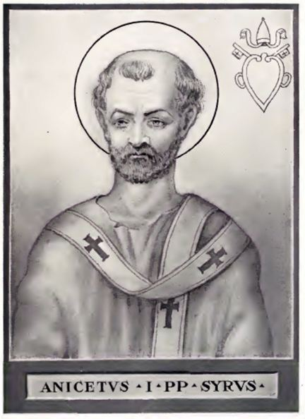 Pope Anicetus FilePope Anicetusjpg Wikimedia Commons