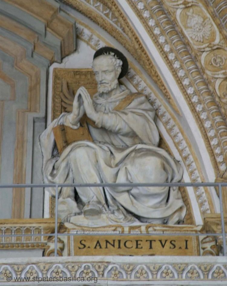 Pope Anicetus Liturgia Latina 17th April St Anicetus Pope and Martyr