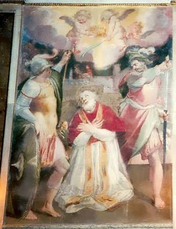 Pope Anicetus Saint Anicetus pope Britannicacom