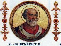 Pope Benedict II httpsuploadwikimediaorgwikipediacommons33