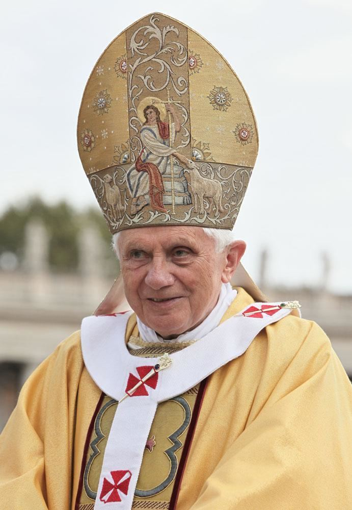 Pope Benedict XVI Pope Benedict XVI Wikipedia the free encyclopedia