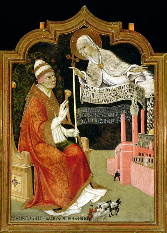 Pope Callixtus III Today in History 15 May 1455 Crusade Against Turks