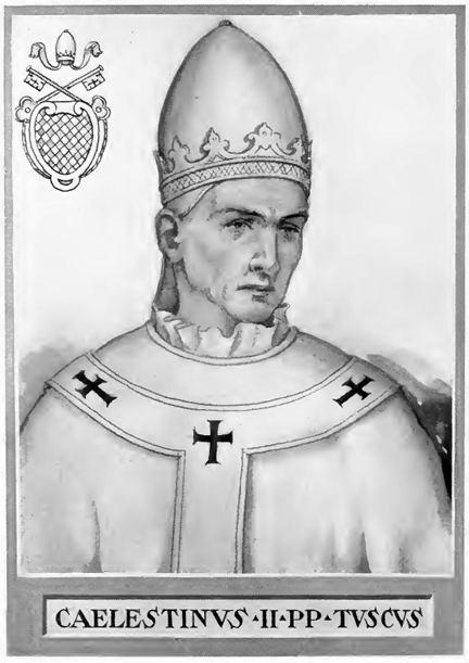 Pope Celestine II FilePope Celestine IIjpg Wikimedia Commons
