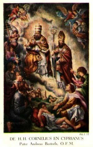 Pope Cornelius DAILY GOSPEL