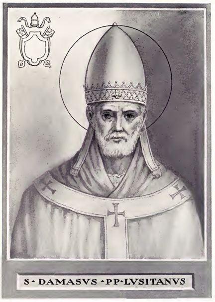 Pope Damasus I FilePope Damasus Ijpg Wikimedia Commons