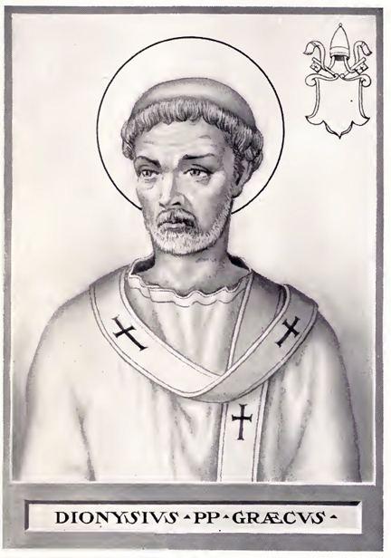 Pope Dionysius httpsuploadwikimediaorgwikipediacommonsff