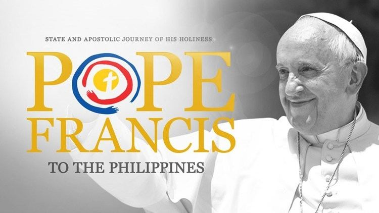 Pope Francis' visit to the Philippines Pope Francis Papal Visit 2015 Philippines Day 1 January 15 2015