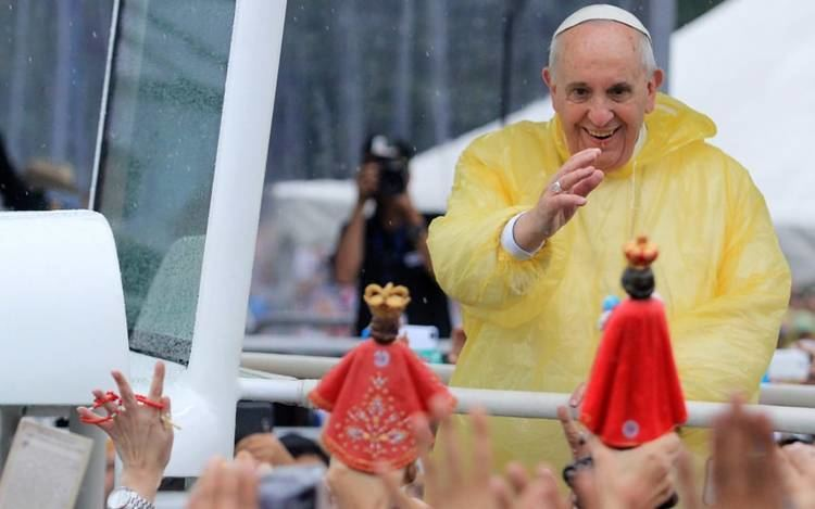 Pope Francis' visit to the Philippines Pope Francis visits the Philippines in pictures Telegraph