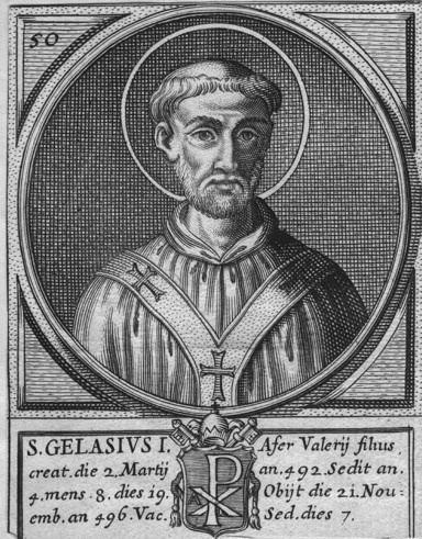 Pope Gelasius I httpstheblackcordeliasfileswordpresscom2009