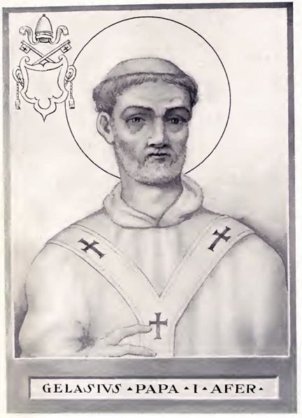 Pope Gelasius I FilePope Gelasius Ijpg Wikimedia Commons