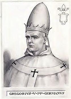 Pope Gregory V httpsuploadwikimediaorgwikipediacommonsthu