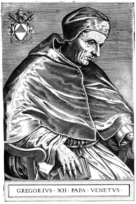 Pope Gregory XII Benedict Resignation Echoes Gregory XII39s Six Centuries