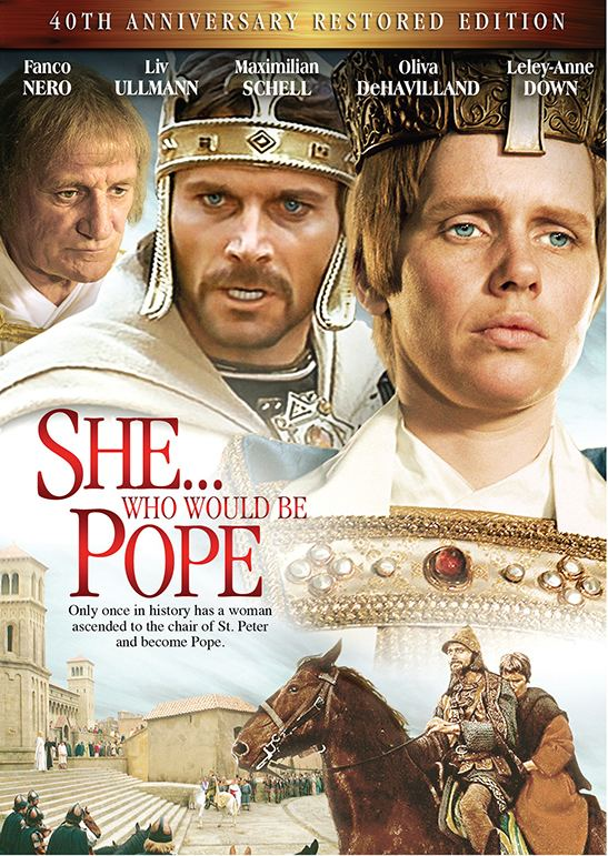 Pope Joan (1972 film) She who would be Pope