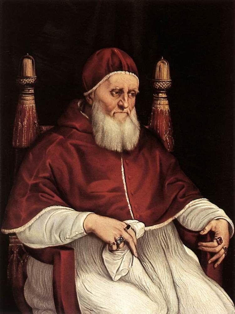 Pope Julius II Portrait of Pope Julius II Wikipedia the free encyclopedia
