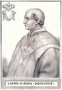 Pope Lando httpsuploadwikimediaorgwikipediacommonsthu