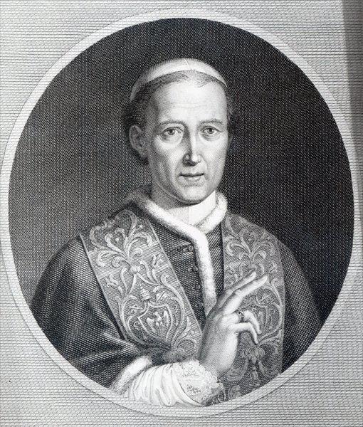 Pope Leo XII Pope Leo XII engraved by Raffaele Persichini engraving