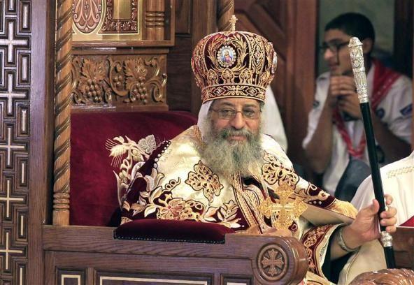 Pope of the Coptic Orthodox Church of Alexandria blogsreuterscomfaithworldfiles201211coptic