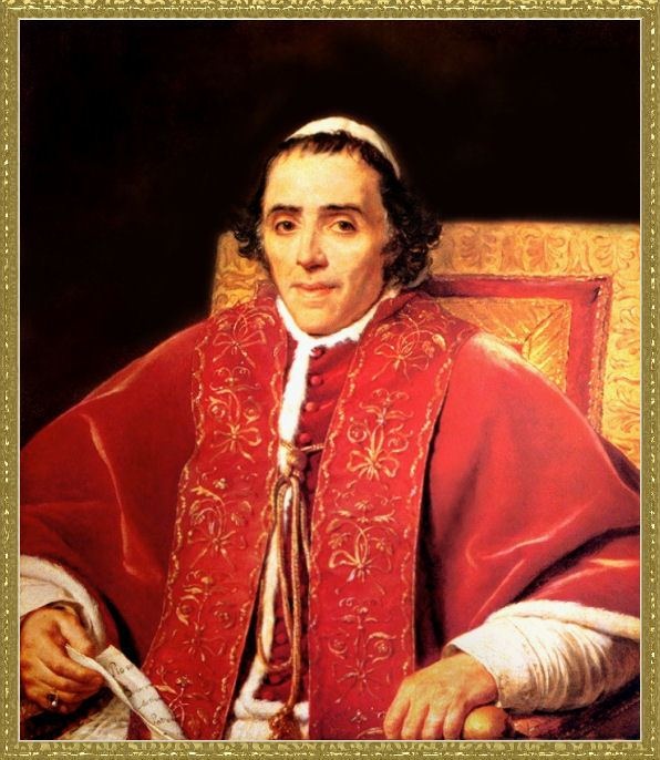 Pope Pius VII PAPAL GALLERY