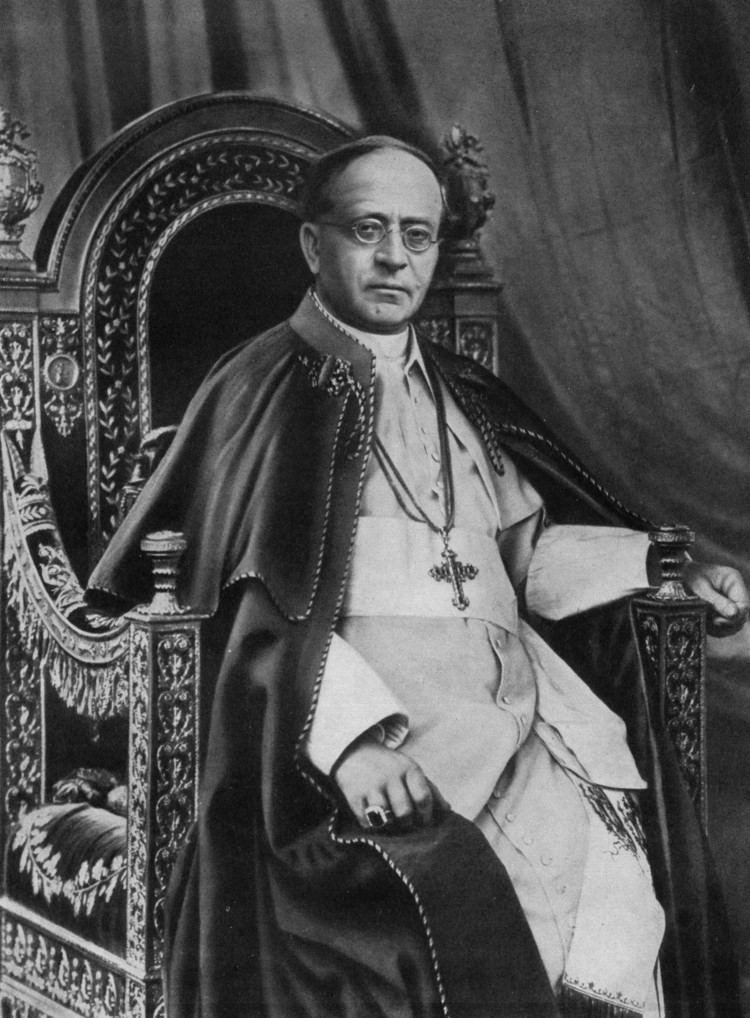 Pope Pius XI Pope Pius XI Wikipedia the free encyclopedia