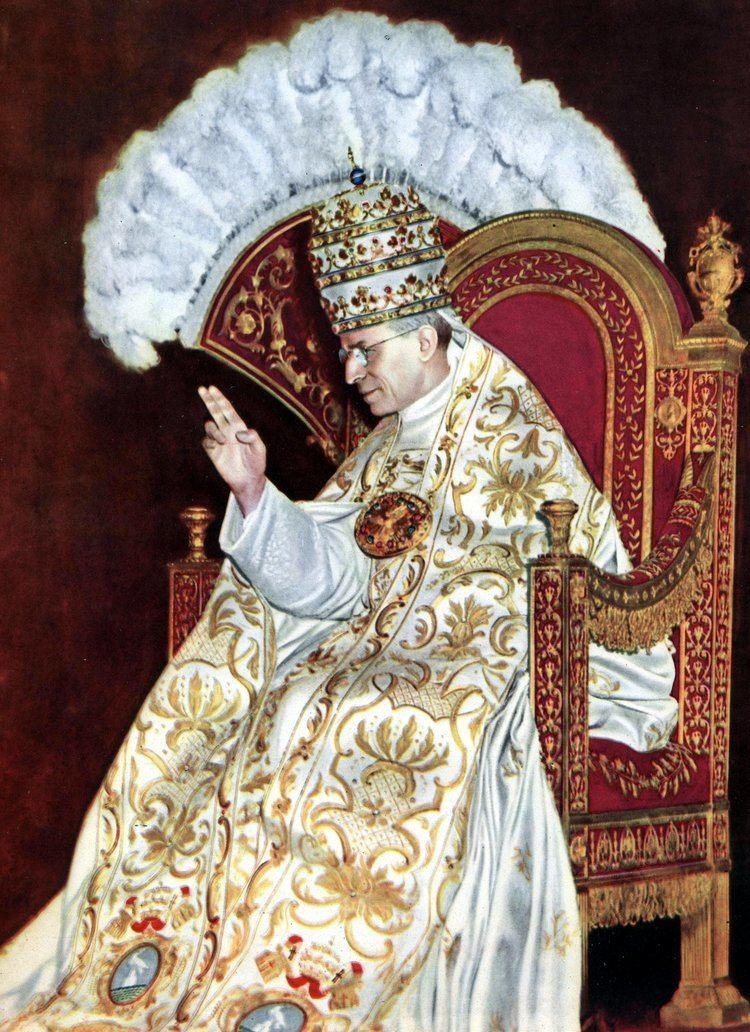 Pope Pius XII Pope Pius XII Wikipedia the free encyclopedia