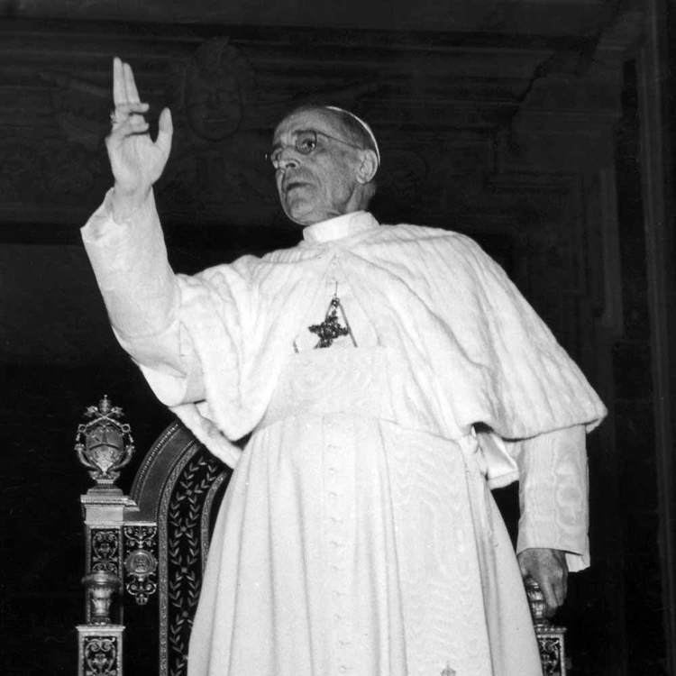 Pope Pius XII Today in History 1 November 1950 Pope Pius XII Proclaims