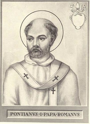 Pope Pontian Pope Pontian Wikipedia