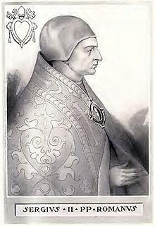 Pope Sergius II Pope Sergius II Wikipedia the free encyclopedia