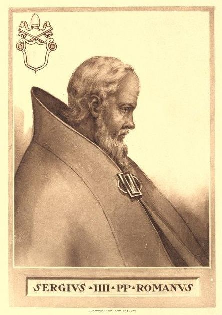 Pope Sergius IV FilePope Sergius IVjpg Wikimedia Commons