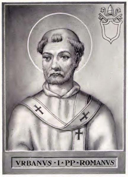 Pope Urban I Pope Urban I Wikipedia the free encyclopedia