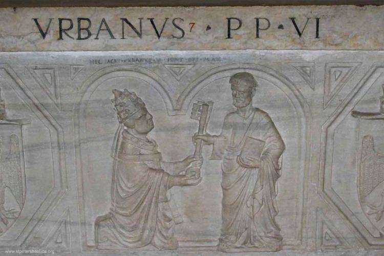 Pope Urban VI The Tomb of Urban VI Vatican Grottoes