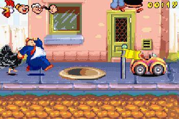 Popeye: Rush for Spinach Popeye Rush for spinach Symbian game Popeye Rush for spinach