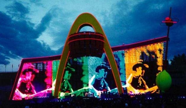 PopMart Tour 1000 images about U2 Popmart Tour on Pinterest Don39t care The