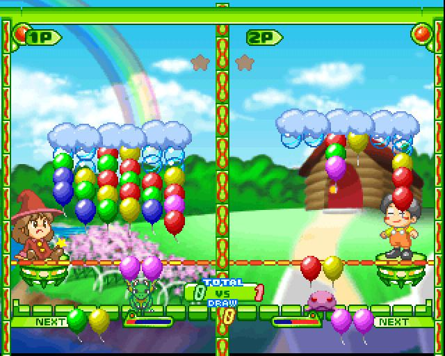 Pop'n Pop Pop n Pop Screenshots Sony Playstation The Iso Zone