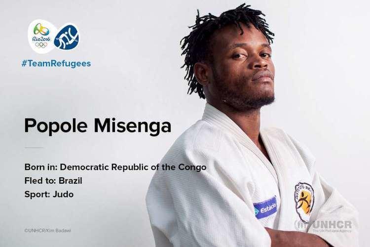 Popole Misenga UNHCR TeamRefugees Popole Misenga